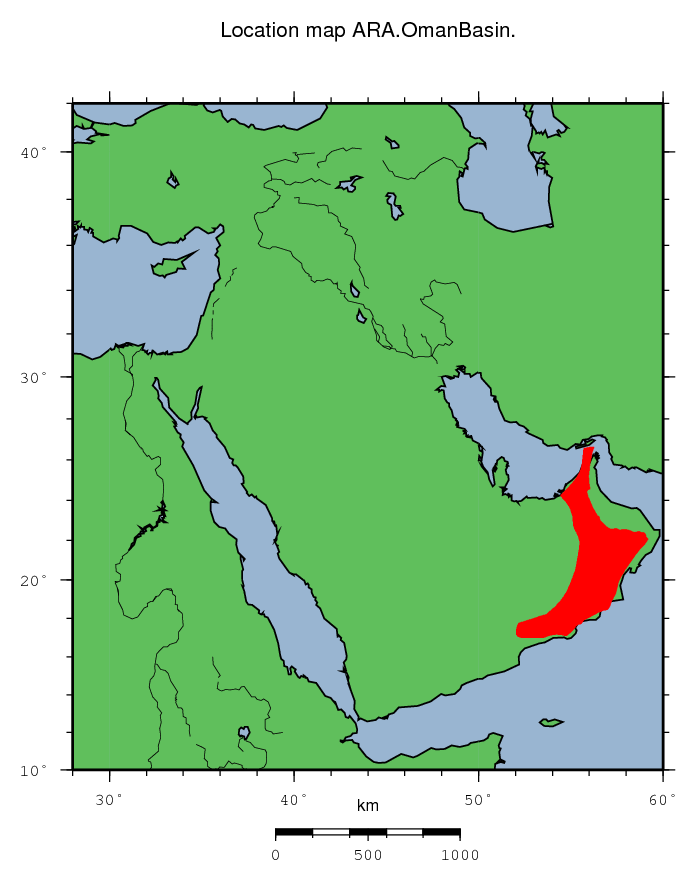 ARA Oman Basin - Oman map png