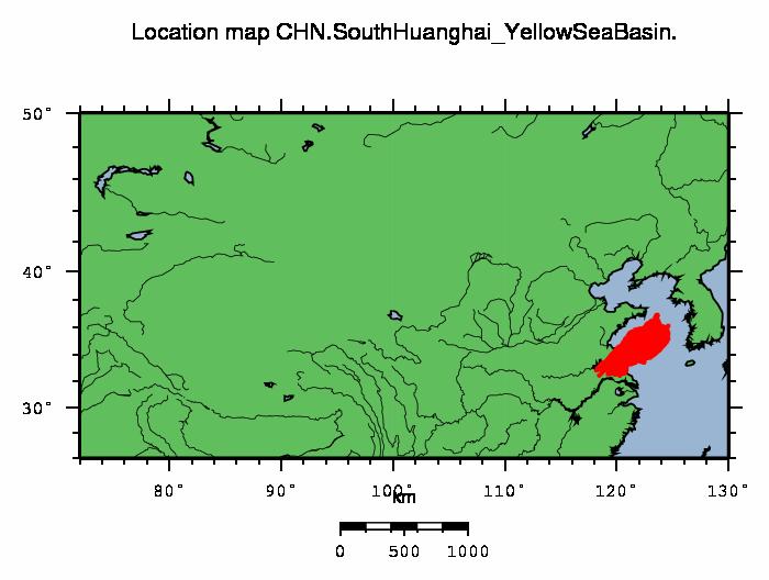 Yellow Sea Location CHN - South Huanghai (...