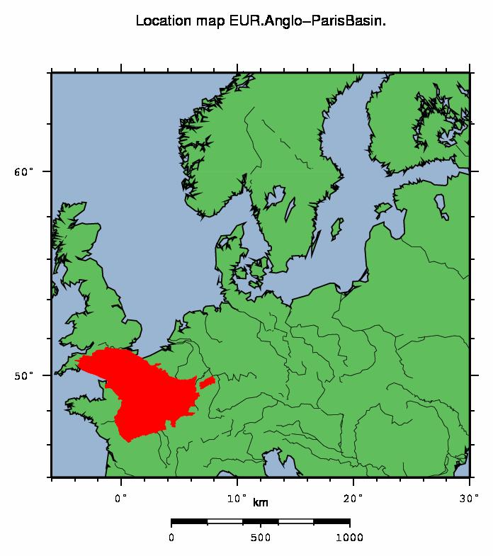 EUR - Anglo-Paris Basin