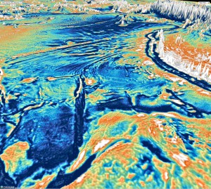 Indian Ocean View Westward from Australia