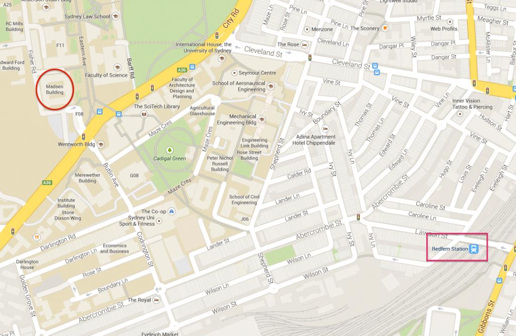 EarthByte Google Maps Location