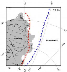 Dynamic Subsidence of Eastern Australia Matthews et al (2011)