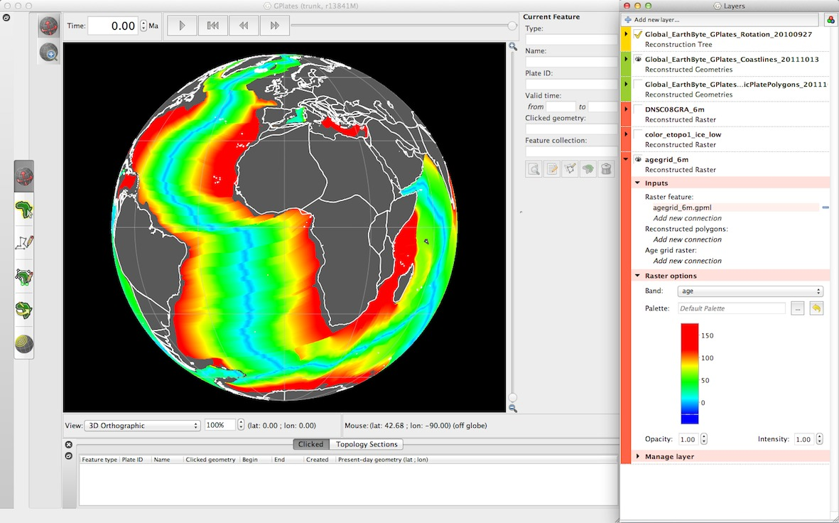 GPlates 1 5 software and data sets – EarthByte