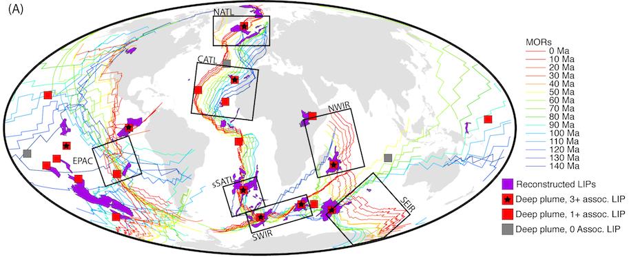 Long term interaction between mid ocean ridges and mantle plumes long term interaction between mid ocean ridges and mantle plumes sciox Gallery
