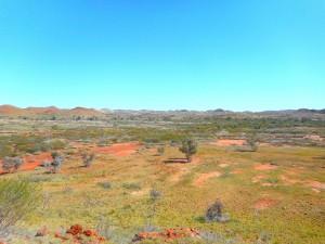 Pilbara landscape - Claire Mallard