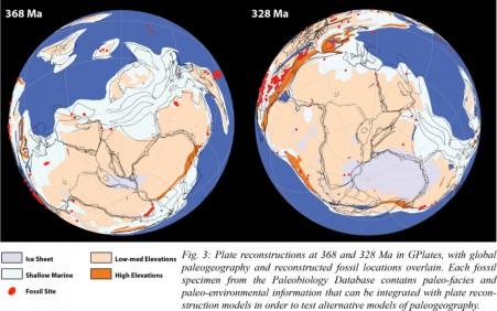 Global paleogeography figure