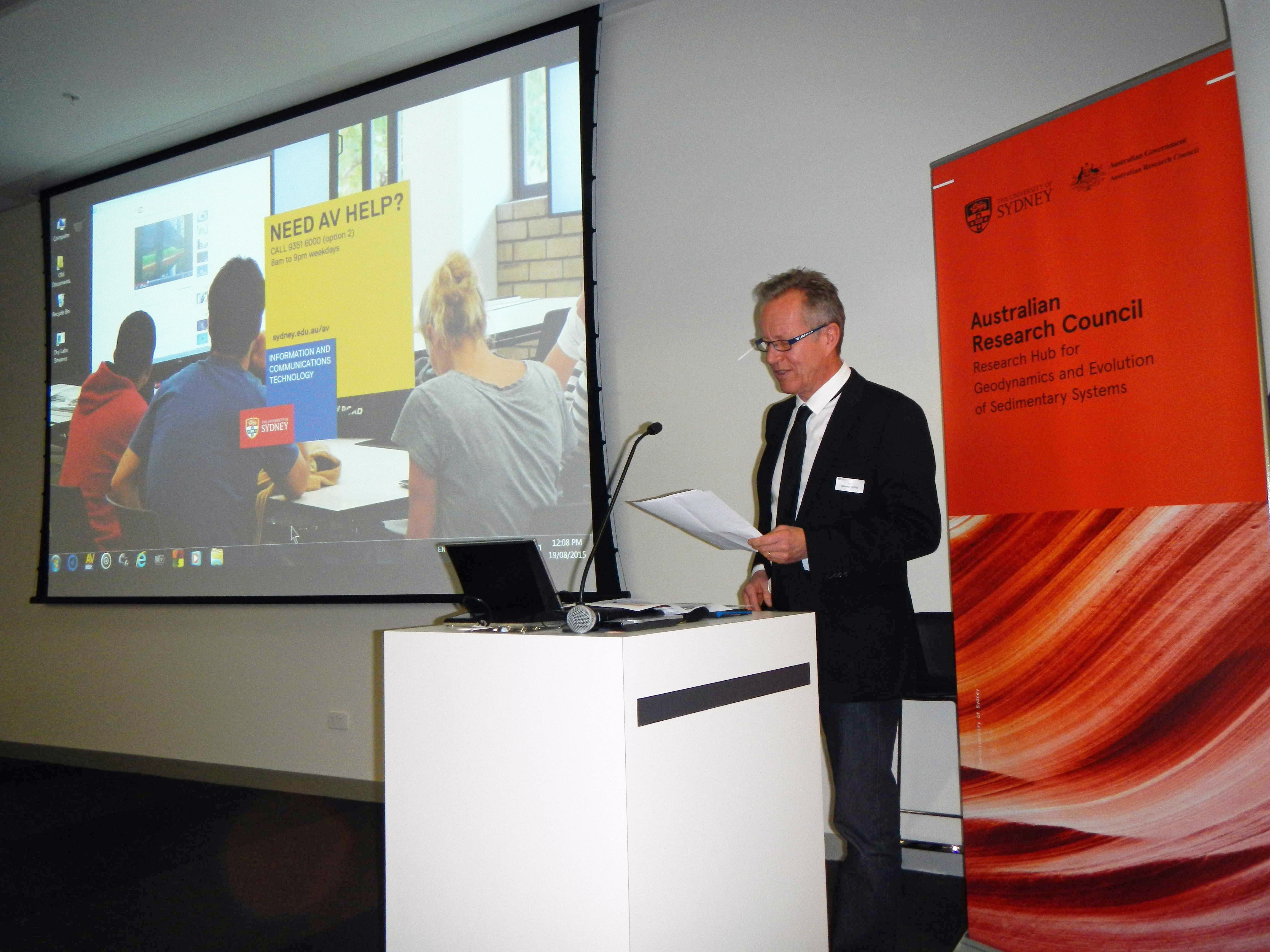 Dietmar Müller's BGH opening speech 19 August 2015