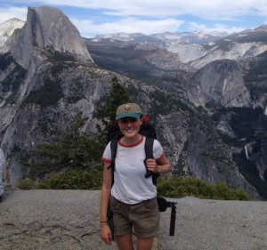 Jodie Pall at Yosemite National Park