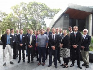 Core members group photo - Basin Genesis Hub opening 19 August 2015
