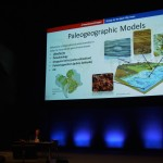 Sabin Zahriovic giving a talk at the AAPG ICE 2015