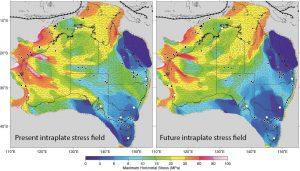 present_vs_future_intraplate_stress_field