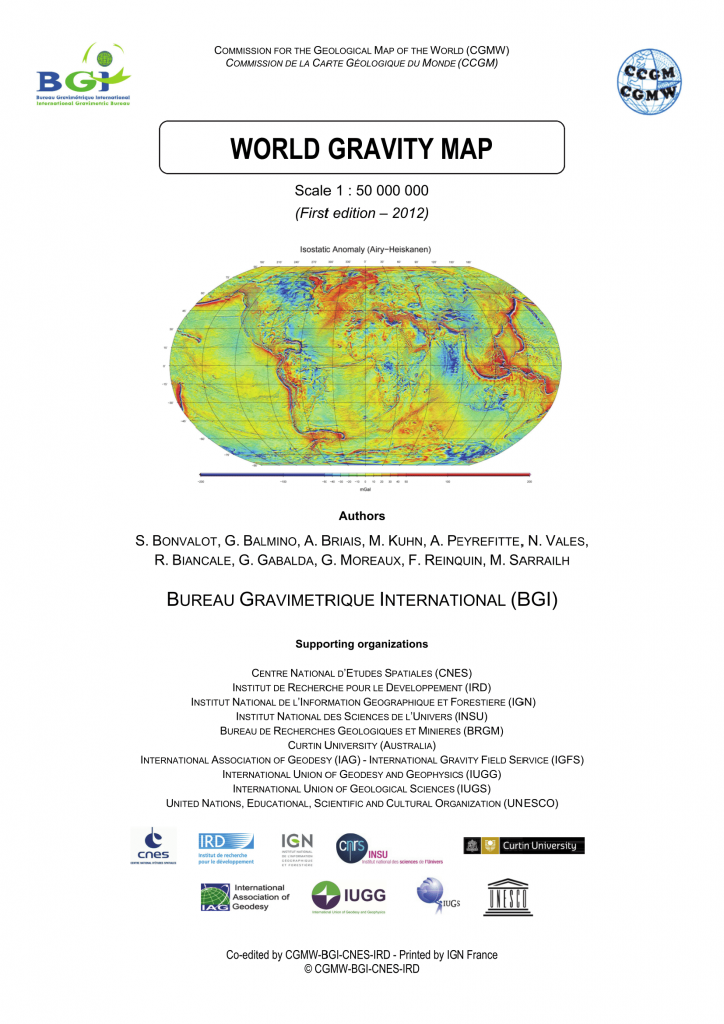 WORLD GRAVITY MAP – EarthByte