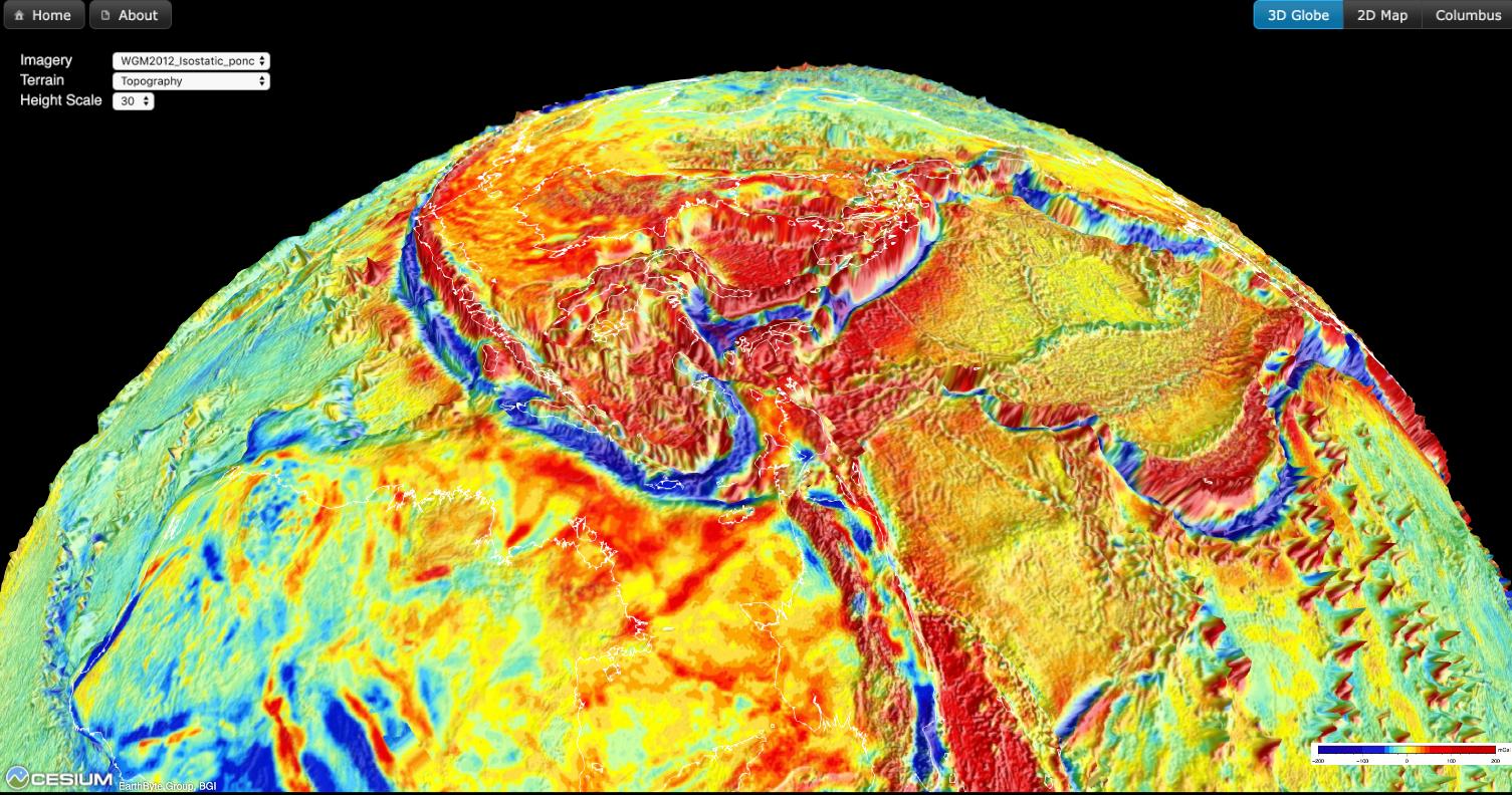 Interactive virtual gravity globe, based on BGI's global ... on city world map, vancouver world map, nature world map, graffiti world map, nfs world map, fifa world map, indianapolis indiana world map, anime world map, animals world map, funny world map,